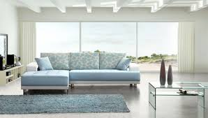 modern baby blue leather sectional sofa reviews houzz