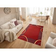 theko exklusiv wollteppich bellary rechteckig 13 mm höhe reine wolle mit bordüre wohnzimmer