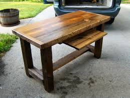 Old Barn Wood Desk - Not Sure If I Like The Different Materials ... Barnwood Writing Desk 33 Stunning Reclaimed Wood Desks The Rustic Blues Rustic Barn Wood Style Bar Sales Counter How To Build A Office Howtos Diy Tanker Deskflash Rusted With150 Yr Old Top Gergen Top Old Barn Pnic Table Tables Photos Hd Straight Planks Rc Supplies Online Jess With Metal Legs Fama Creations Corner Solid Oak W Black Iron Pipe Computer Fold Down And Seven Drawer Large Conference Custom Recycled Fniture