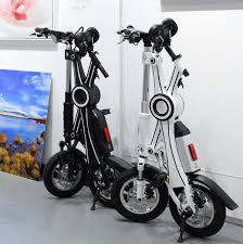 Adult Foldable Electric Scooter Folding Bike With Pedal And Seat