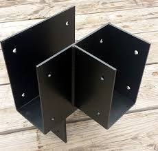 Black Decorative Joist Hangers by Post And Beam Bracket Custom Beam Brackets Iron Brackets