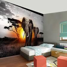 fototapete afrika elefant 396 x 280 cm vlies wand tapete