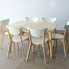 Ikea Table And Chairs Style Dining Rectangular Tables Wood Laminate