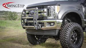 Swing Step - Bumper Guard For Trucks - YouTube Bumper Guard Frontrear Iso9001 High Quality Stainless Steel Grille Guard Ranch Hand Truck Accsories Front Runner Bumper Ss Aobeauty Vanguard Body Accents Automotive Specialty Inc 52017 F150 Fab Fours Premium Winch W Full Jeep Renegade Guards Kevinsoffroadcom Overland Vengeance No 72018 Ford Super Guard Thumper Ultimate Shock Absorbing Fxible Sprinter Van Exguard Parts And Service Dee Zee Free Shipping Price Match Guarantee
