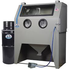 usa 960 dlx deluxe abrasive blasting cabinet tp tools equipment