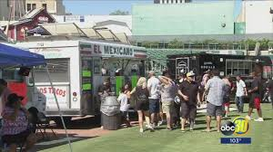 Day Two Of Taco Truck Throwdown Draws Thousands To Downtown Fresno ... Funkhaus Around The Arts District Food Truck Finds Cinco De Mayo Taqueria Truck South Tulsas Taco Desnation Mexican Stock Photos Images The Hidden Taco You Need To Find On Road Hana Hawaii Top Baltimore Food Trucks Sun Nacho Mamas Halls Are New Eater Valentinas Tex Mex Bbqs Is Coming Star Bar Cart Wraps Wrapping Nj Nyc Max Vehicle Dallas Trucks Roaming Hunger