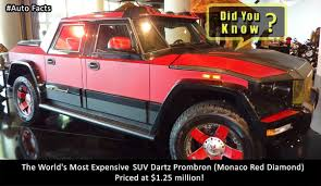 Heard Of The World's Most Expensive #SUV? #AutoFacts | Automotive ... The Top 10 Most Expensive Pickup Trucks In The World Drive Americas Luxurious Truck Is 1000 2018 Ford F F750 Six Million Dollar Machine Fordtruckscom Truckss Secret Lives Of Super Rich Mansion Truck Wikipedia Torque Titans Most Powerful Pickups Ever Made Driving 11 Gm Topping Pickup Market Share