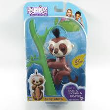 Fingerlings Baby Sloth Kingsley Interactive WowWee New Sealed Fingerling AntiqueTreasureTrove EbayROCteam