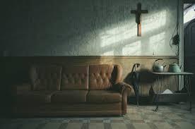 intérieur et canapé fond d écran urbain maison abandonné parapluie la