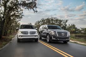 Poll: 2015 Lincoln Navigator Or 2015 Cadillac Escalade? - Motor Trend Used 2015 Lincoln Navigator 4x4 Suv For Sale 34708 Torq Army On Twitter New Truck Trucks Stock Photos Images Alamy 2018 And Info News Car Driver Review 2011 The Truth About Cars Limitless Tire Navigator Dai Brute Wheels 20 Pickup Reability Review Suvs Skateboard Home Facebook 2000 Lincoln Navigator Parts Midway U Pull 2013 Review 4 Cars And Trucks V Gmc Yukon Xl Denali Extreme Towing
