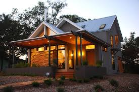 Gabled LEED Platinum New er House in Georgia Cost Just $125 per