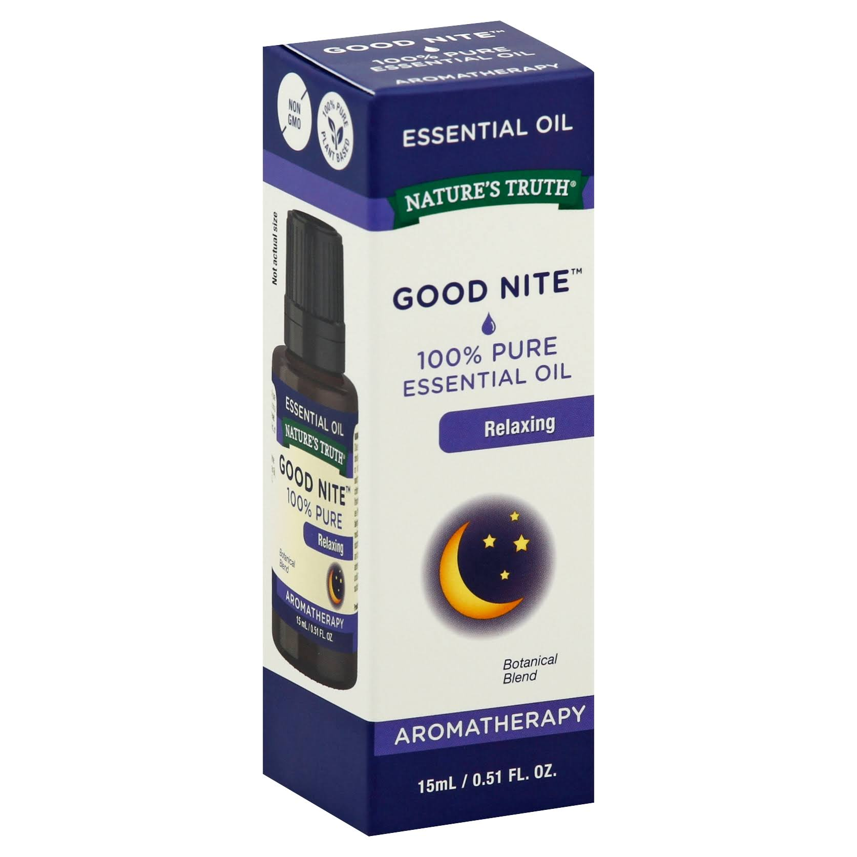 Nature's Truth Good Nite Aromatherapy Essential Oil - Calming, 0.51oz