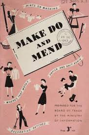 Vintage Sewing Booklet Rare Make Do And Mend 1940s Digital Copy PDF INSTANT DOWNLOAD