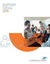 groupe la poste si e social les publications institutionnelles du groupe la poste 2015 le