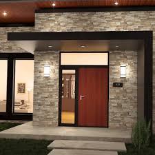 lights v flush mount led wall light fixture stainless steel