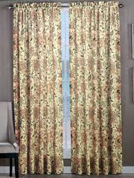 Jacobean Floral Country Curtains by Amazon Com Tommy Bahama Set Of 2 Window Panel Curtains Olive