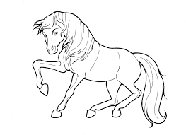 Pictures Spirit Horse Coloring
