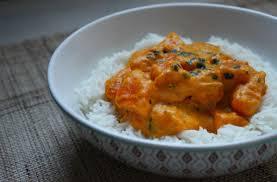 plat rapide a cuisiner curry de potimarron à la crème de coco recette rapide la cuisine