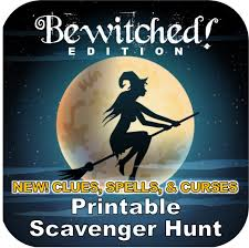 Easy Halloween Scavenger Hunt Clues by Printable Halloween Scavenger Hunts