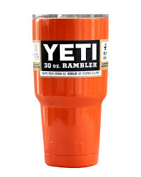 Bathroom Tumbler Used For by Orange Yeti 30 Oz Rambler Tumbler Termos Pinterest Yeti 30