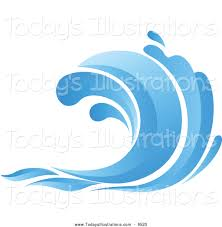 Monster Waves clipart tidal wave 5