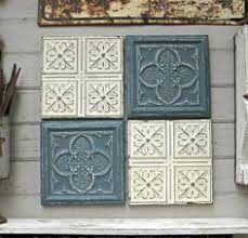 24x24 Pvc Ceiling Tiles by Majesty Antique Copper Patina 24x24