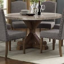 Vesper Round Marble Dining Table