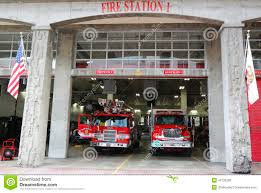 100 Truck Stop San Diego FireRescue Department Fire Station 1 In