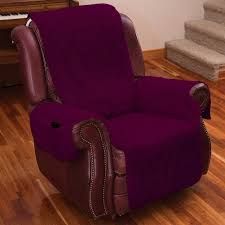 Reclining Camping Chairs Ebay by Recliner Chair Arm Covers Fleece Lazy Boy Furniture Protectror