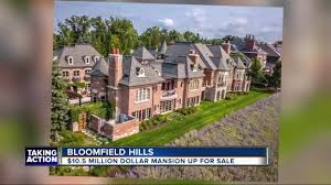 100 Multi Million Dollar Homes For Sale In California 105 Million Bloomfield Hills Mansion Hits The Market
