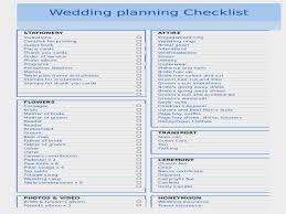 Planning A Wedding Checklist Best Of Lovable List To Plan