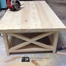 Diy Coffee Table Rustic X On Cottage Cedar End Tables Leksvik Log
