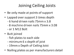 Jack Ceiling Joist Definition by Construct Ceiling Frames Ppt Video Online Download