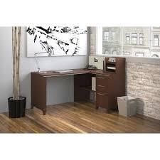 Realspace Magellan Collection Corner Desk Honey Maple by Desks Costco