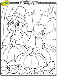 Pdf Thanksgiving Color Pages Printable Turkey Coloring Free Sheets For Toddlers Kids