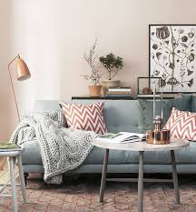 Paint Colors Living Room Grey Couch by Dusty Pink Neutral Paint Color For Living Room With Grey Sofa With
