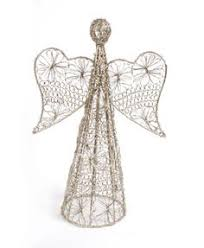 Wire Angel Christmas Tree Topper