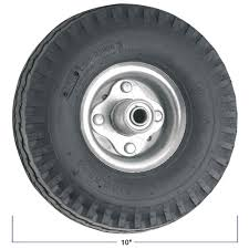 8 Inch Flat Free Hand Truck Tire - Wheel 8