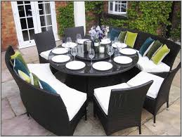 8 10 Person Patio Table by Round Dining Room Table Seats 8 Dining Table Seats 10 Love This