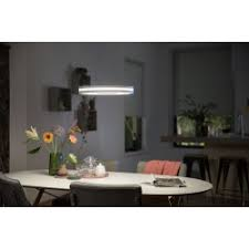 philips hue ambiance white being pendelleuchte led weiß 1 flammig fernbedienung