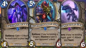 Dragon Priest Deck Hearthpwn by Hearthstone Dragon Priest Youtube
