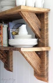 best 25 wood shelves garage ideas on pinterest palette shelf