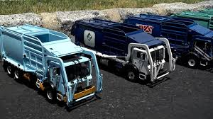 100 First Gear Garbage Truck Collection 134 Scale YouTube