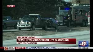TRAFFIC ALERT: Semi-truck Involved In Crash On I70 Eastbound - KMIZ Train Crashes Into Fedex Truck Cnn Video Semi Barrier On Hwy 26 Eb In Beaverton No Crash Volving Semis Sparks Fire Southwest Side Fox59 Blown Tire Causes Semi Crash With Lunch I75 Estero Driver In Fatal Was On Cellphone Charges Allege Wcco Update Highway 1 Westbound Langley Open Again After Best Truck Crashes 2015 2016 Trucks Slows Traffic I65 Sthbound Near Morning Semitruck Ties Up Northbound 99 Accidents Youtube Truck Crash Compilation 2 Semi Trucks Driving Fails