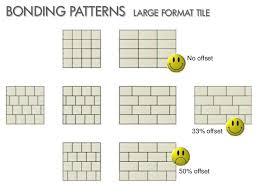 tile pattern 33 stagger floor tiles door lighting home