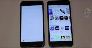 El iPhone 6s Plus abre las apps más rápido que el 6 Plus vdeo