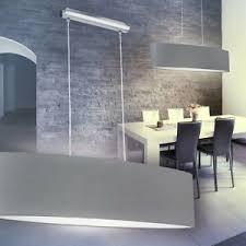 details zu schirm hängeleuchte pendelle esszimmer len wohn zimmer leuchten stoff grau