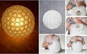 DIY Ruffled Paper Lantern