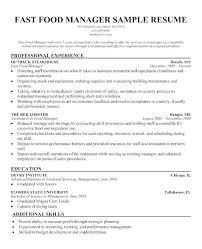 Mcdonalds Resume Sample Essay Cashier Job Description For
