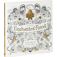 Forest An Inky Quest Coloring Book